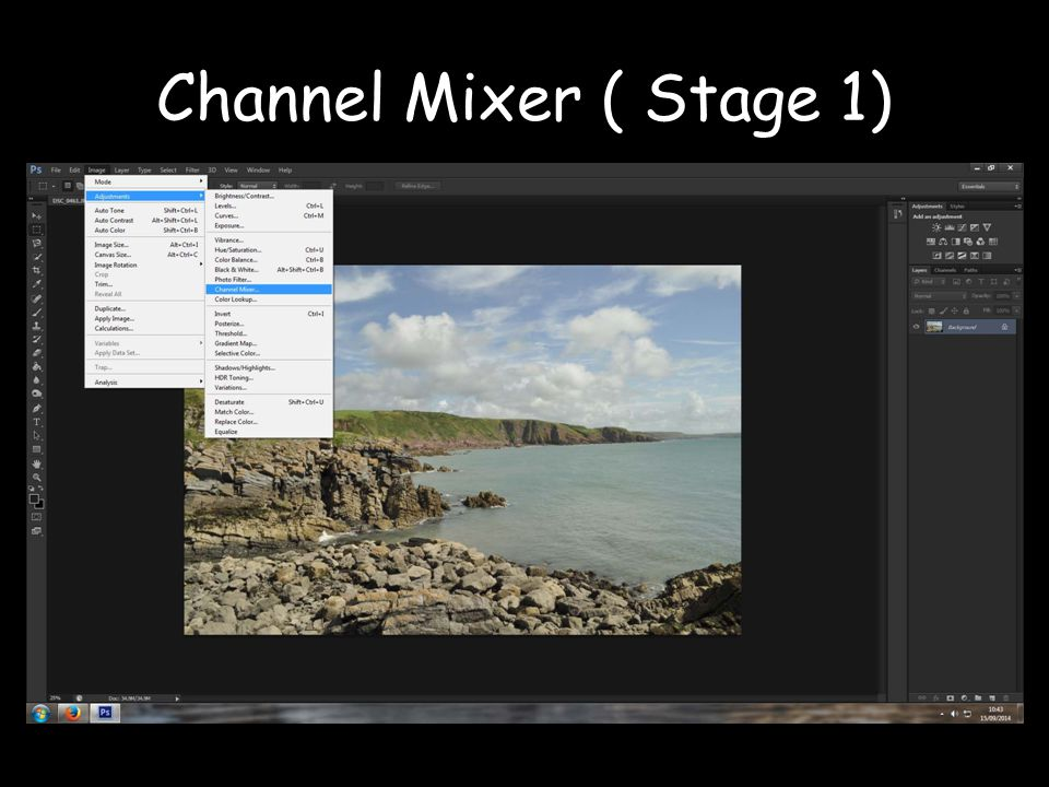 Channel Mixer ( Stage 1)