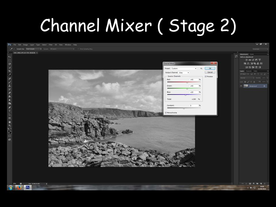 Channel Mixer ( Stage 2)