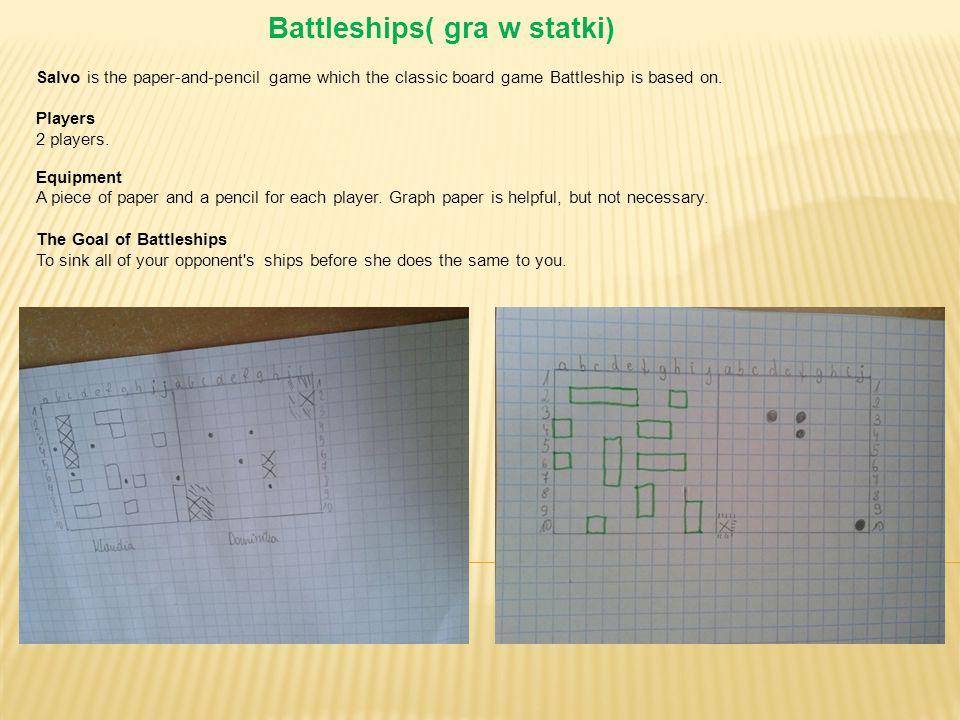 Battleships( gra w statki)