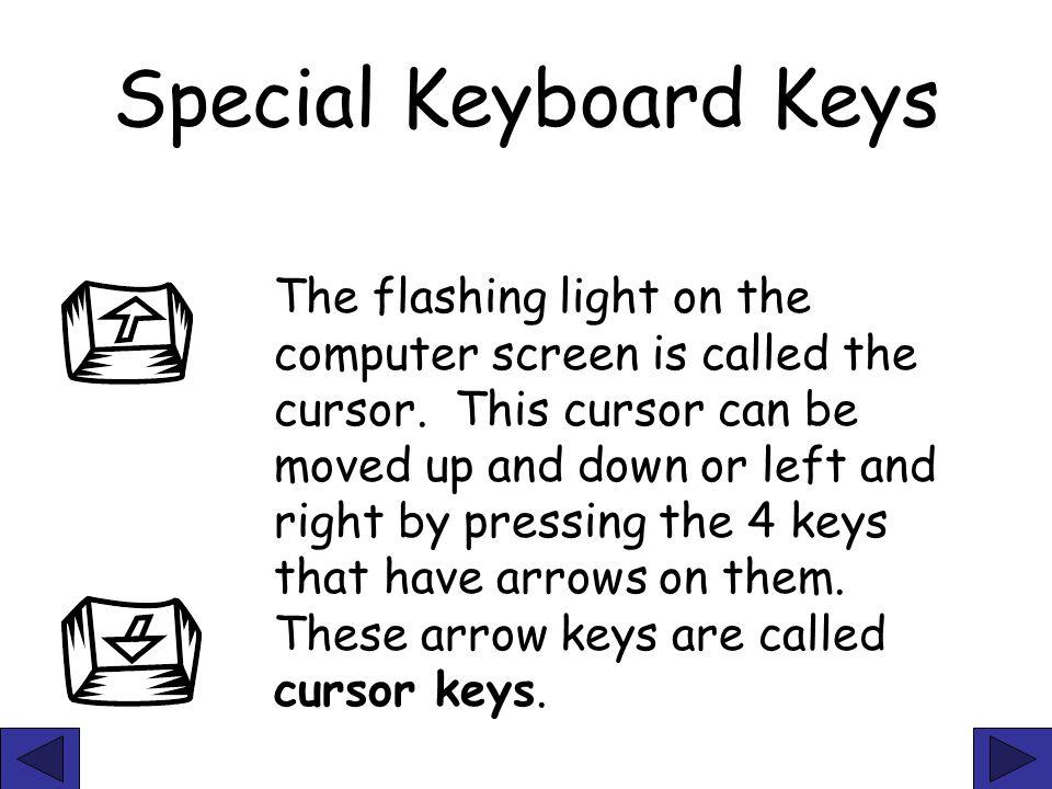 Special Keyboard Keys