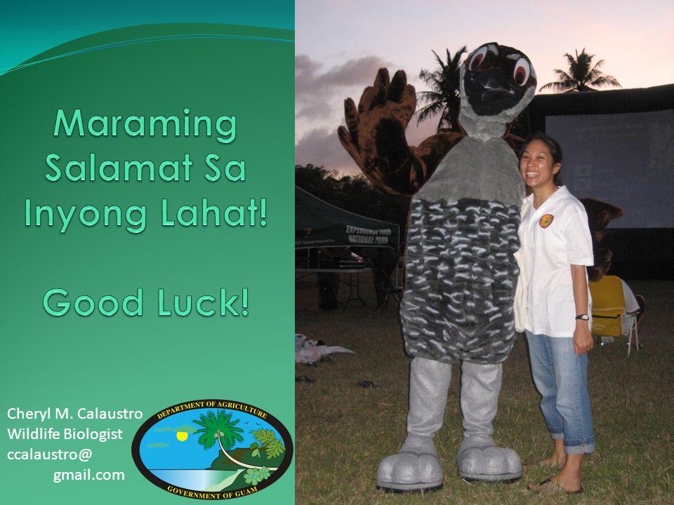 Maraming Salamat Sa Inyong Lahat! Good Luck!