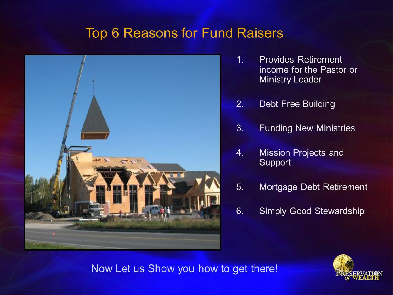 Top 6 Reasons for Fund Raisers