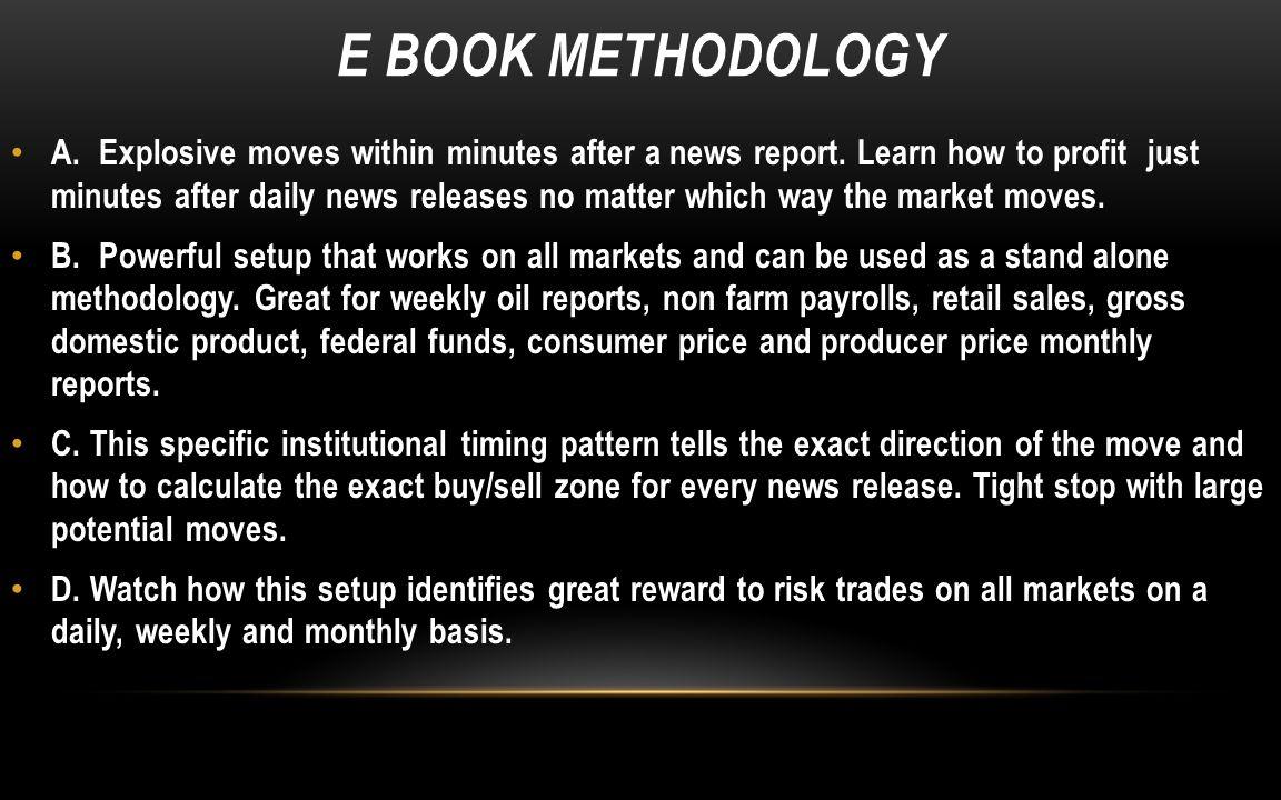 E BOOK METHODOLOGY