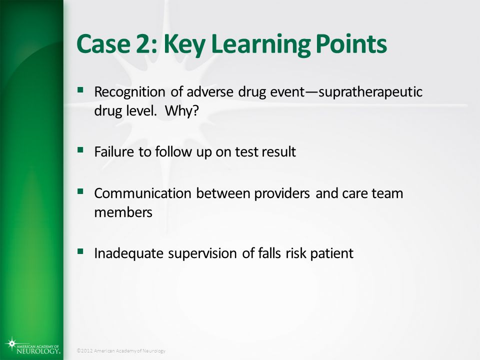 Case 2: Key Learning Points