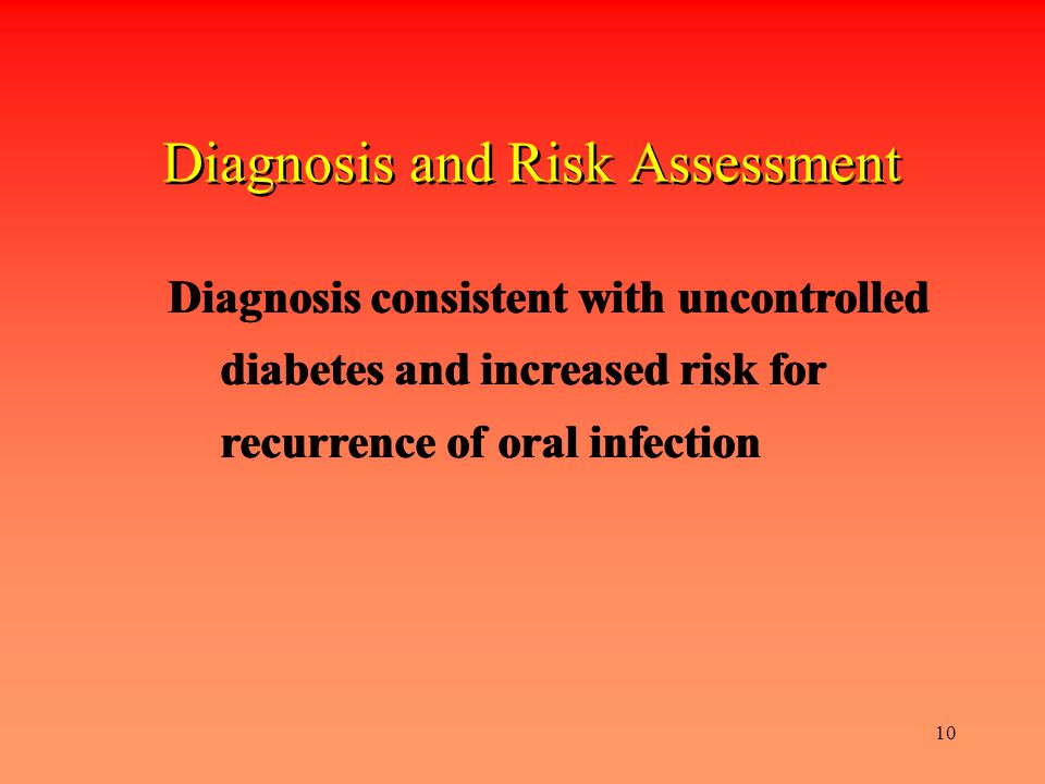 Diagnosis and Risk Assessment