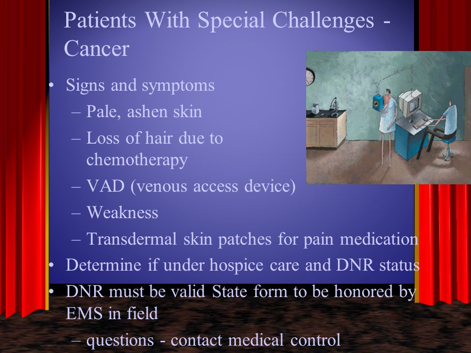 Patients With Special Challenges - Cancer