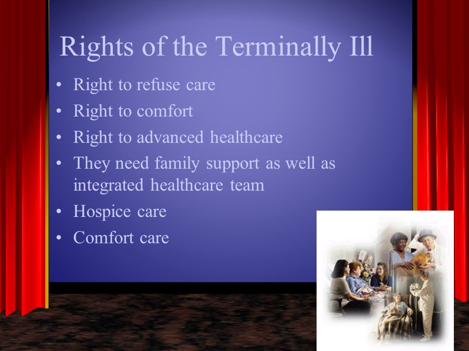 Rights of the Terminally Ill