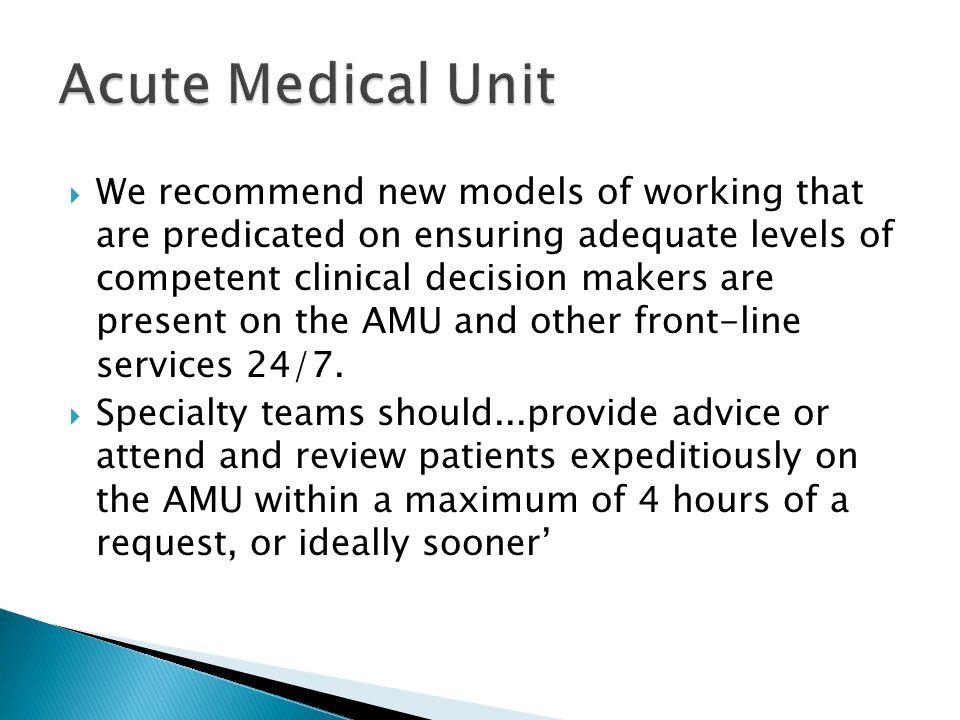 Acute Medical Unit
