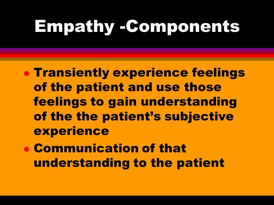 Empathy -Components