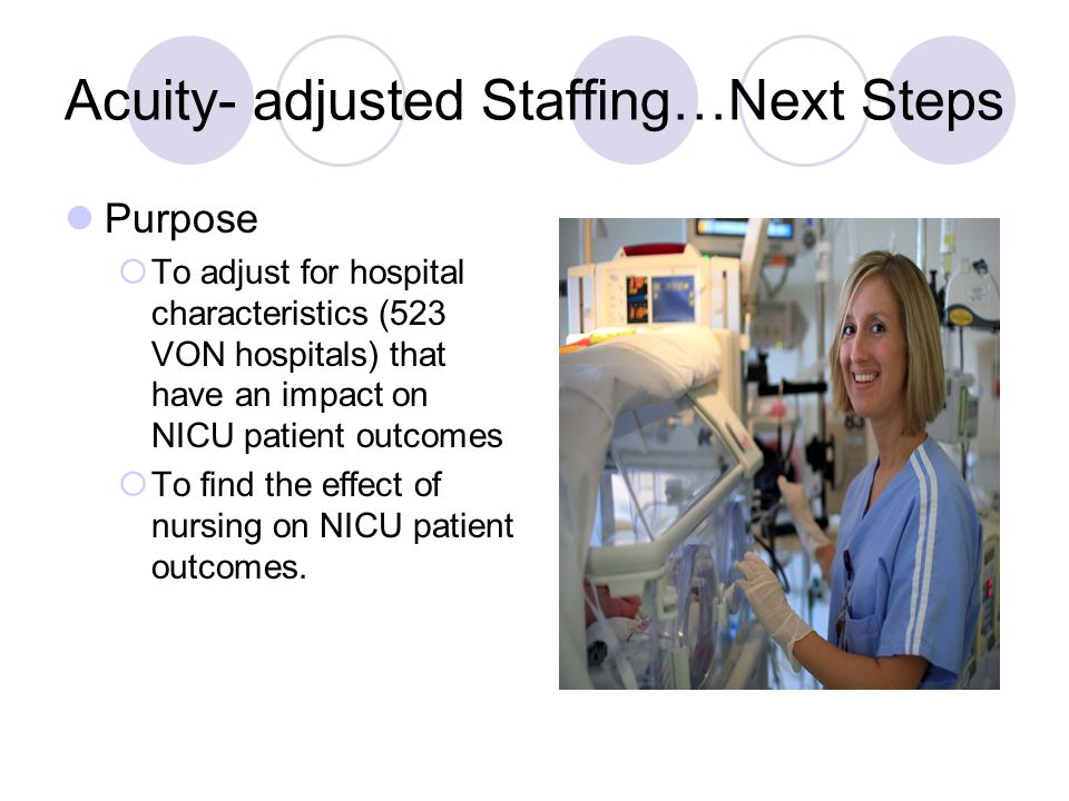 effects of nurse staffing on patients Context: better hospital nurse staffing, more educated nurses, and improved nurse work environments have been shown to be associated with lower hospital mortality little is known about whether and under what conditions each type of investment works better to improve outcomes objective: to.