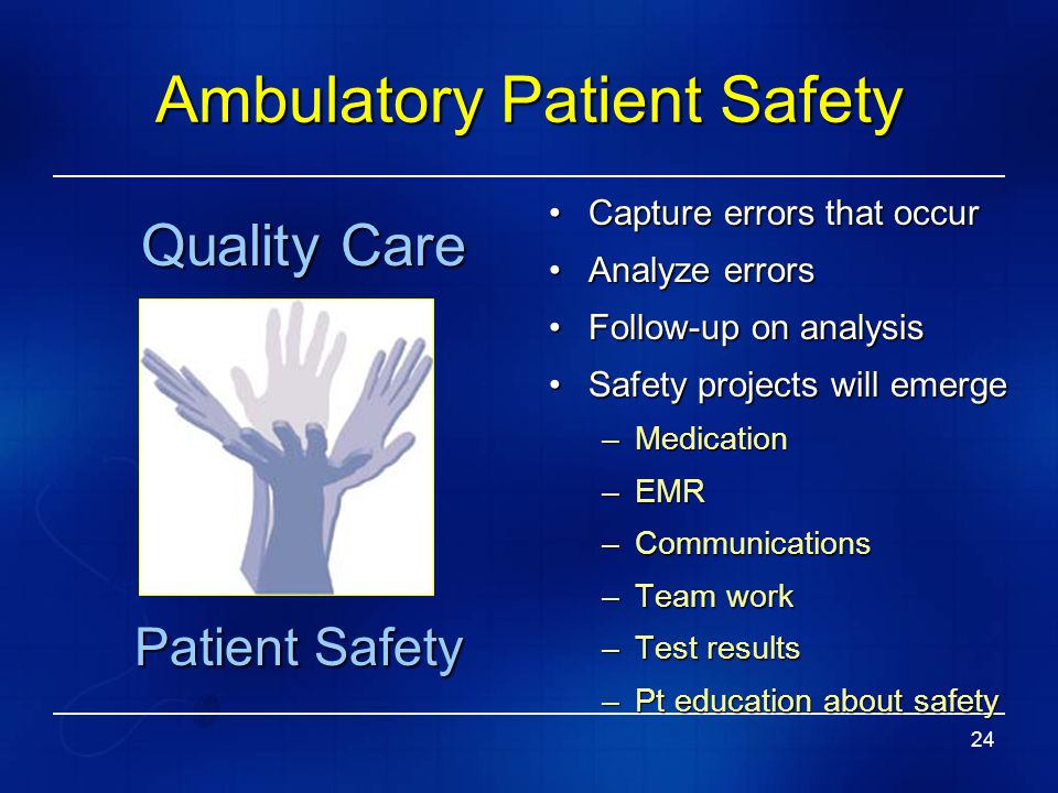 Creating A Culture Of Patient Safety Ppt Video Online