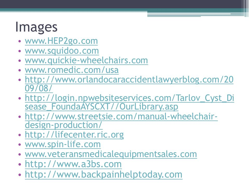 Images http://www.a3bs.com http://www.backpainhelptoday.com