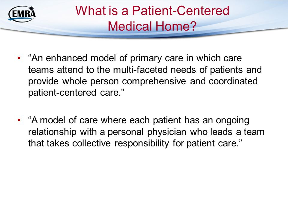 What is a Patient-Centered Medical Home