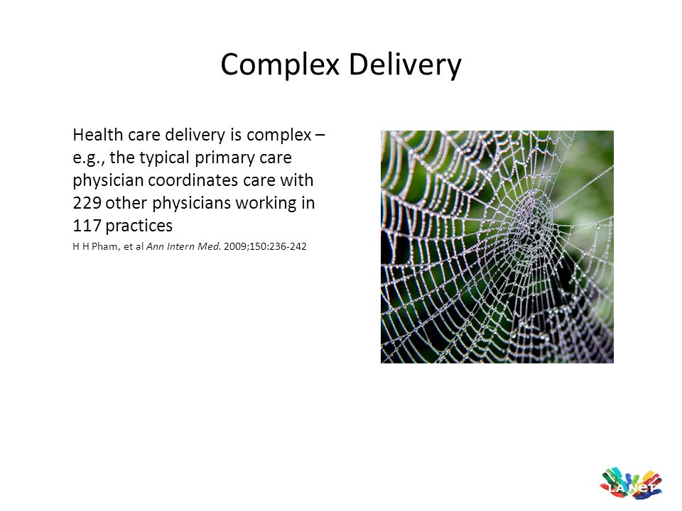Complex Delivery