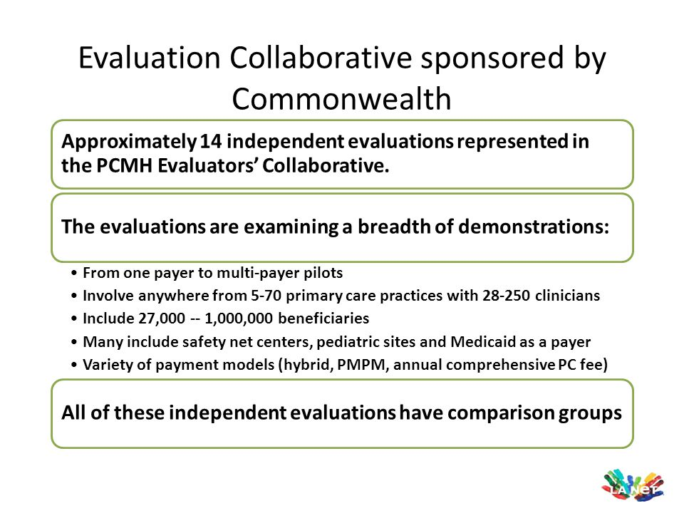 Evaluation Collaborative sponsored by Commonwealth