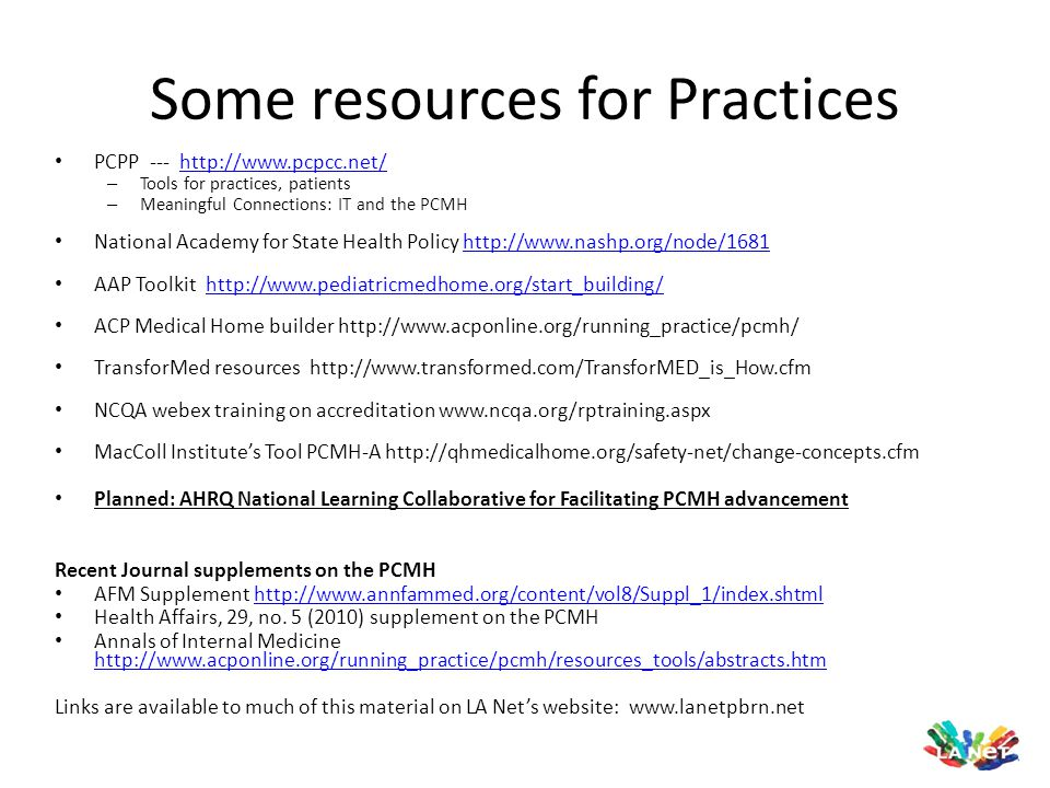 Some resources for Practices