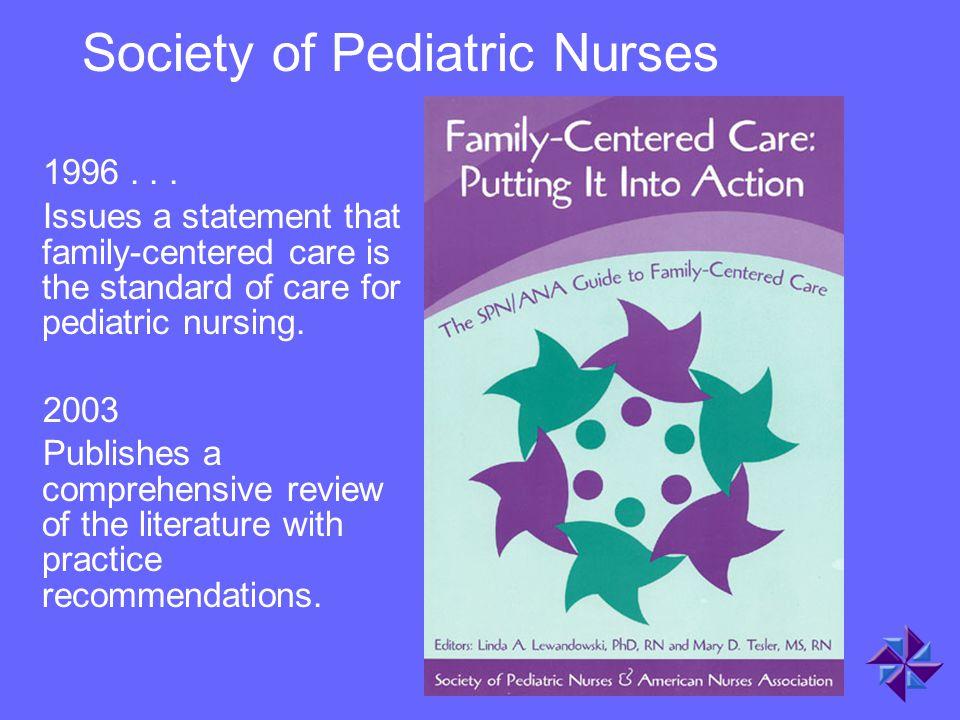 Society of Pediatric Nurses