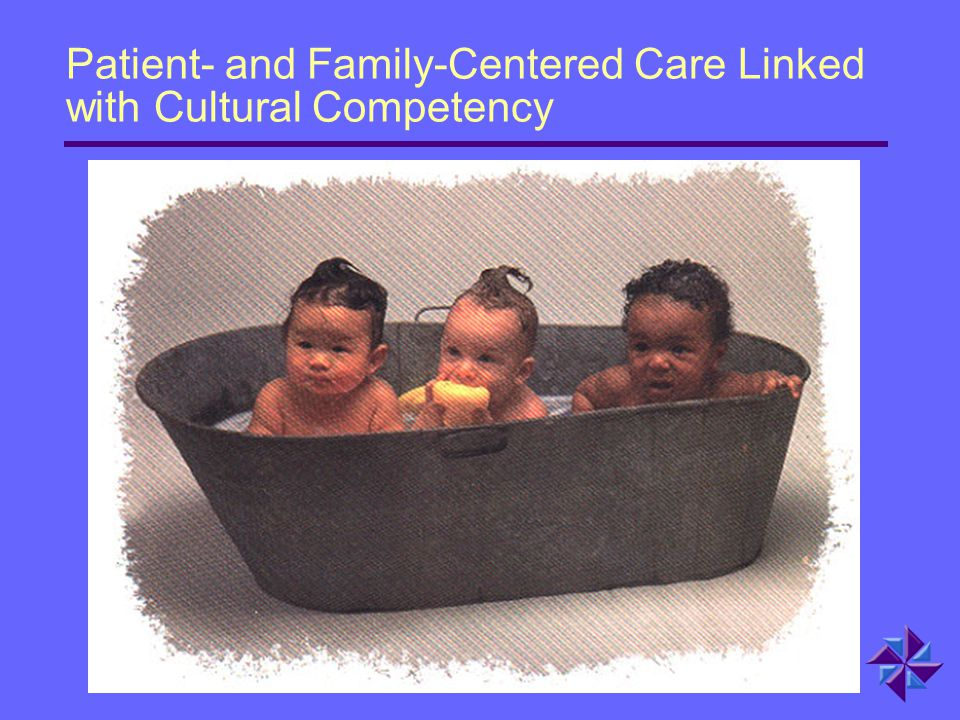 Patient- and Family-Centered Care Linked with Cultural Competency