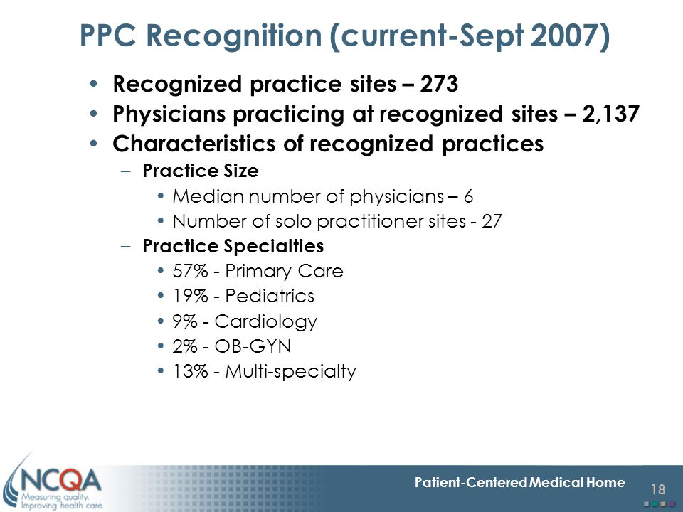 PPC Recognition (current-Sept 2007)