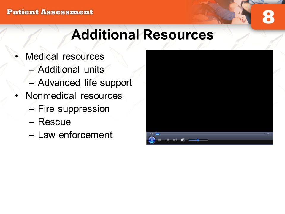 Additional Resources Medical resources Additional units