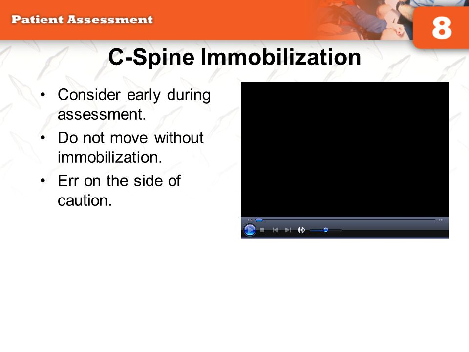 C-Spine Immobilization