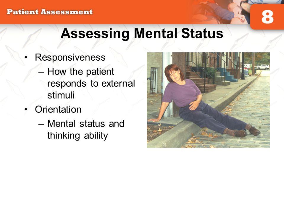 Assessing Mental Status