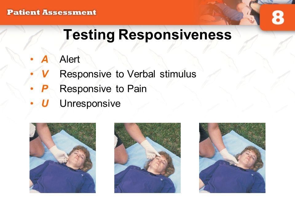 Testing Responsiveness