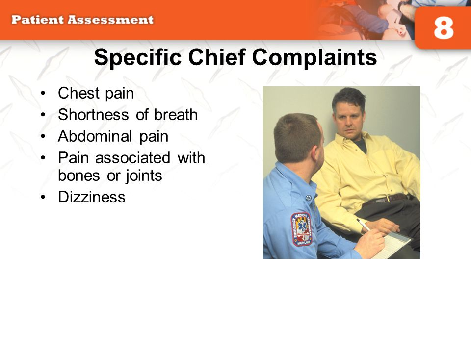 Specific Chief Complaints