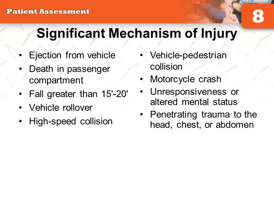 Significant Mechanism of Injury