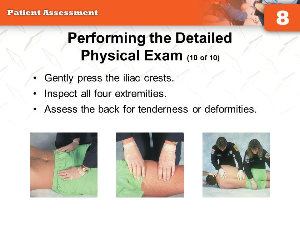 Performing the Detailed Physical Exam (10 of 10)