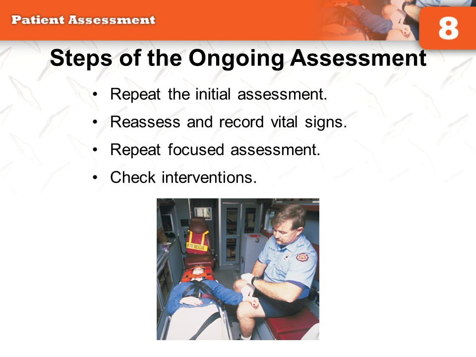 Steps of the Ongoing Assessment