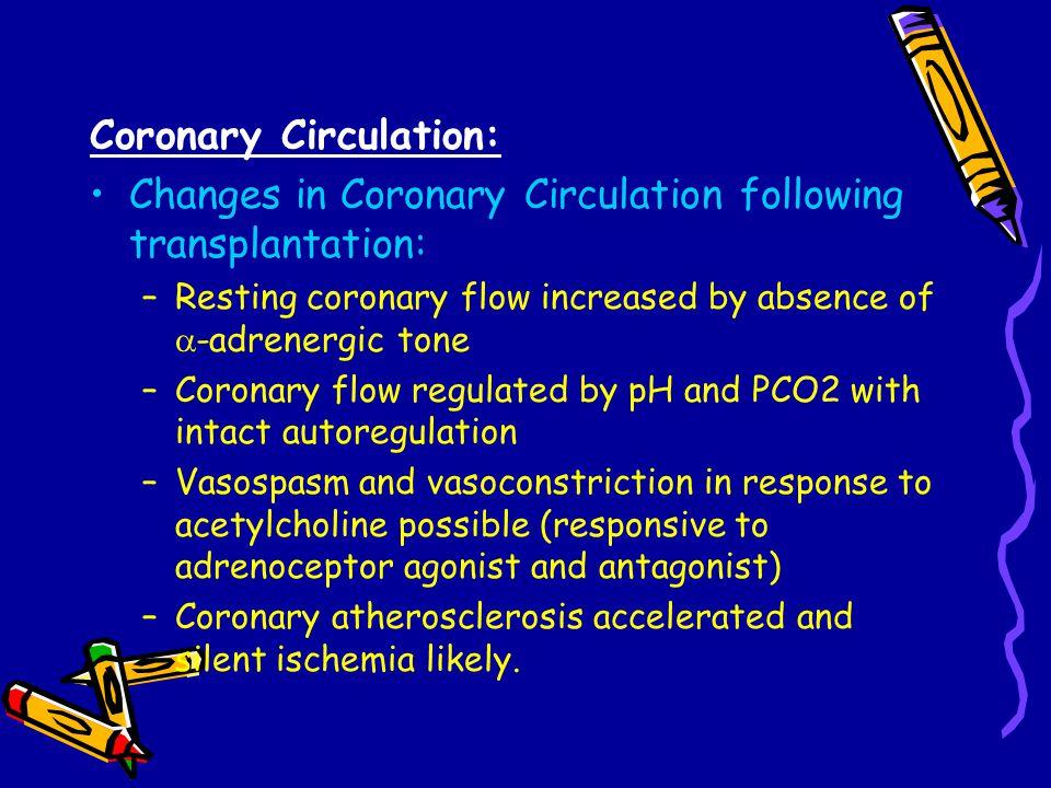 Coronary Circulation: