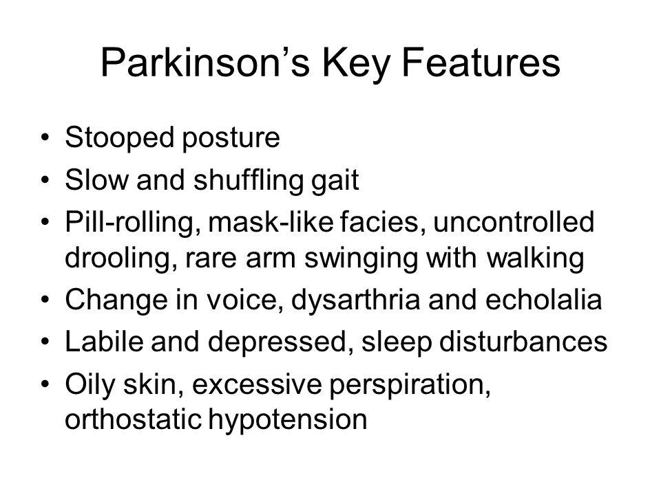 Parkinson's Key Features