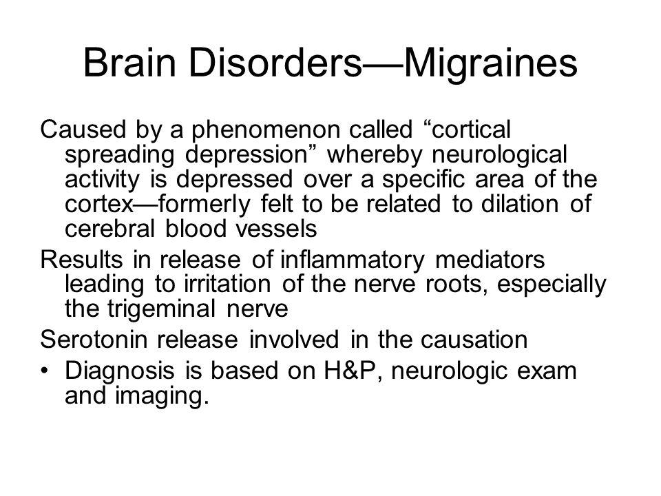 Brain Disorders—Migraines