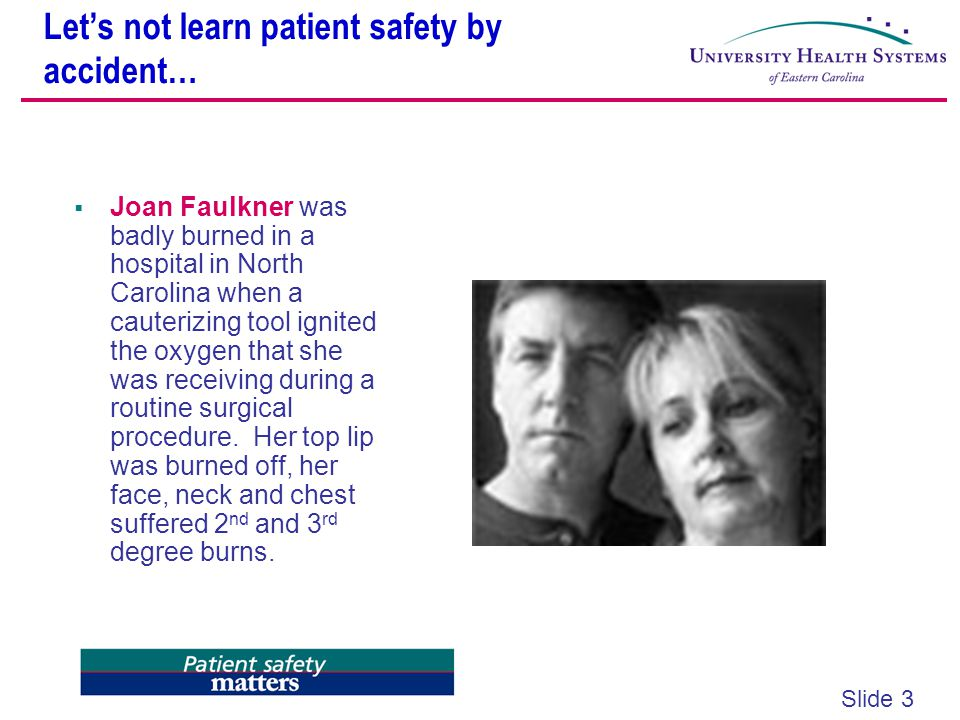 Let's not learn patient safety by accident…