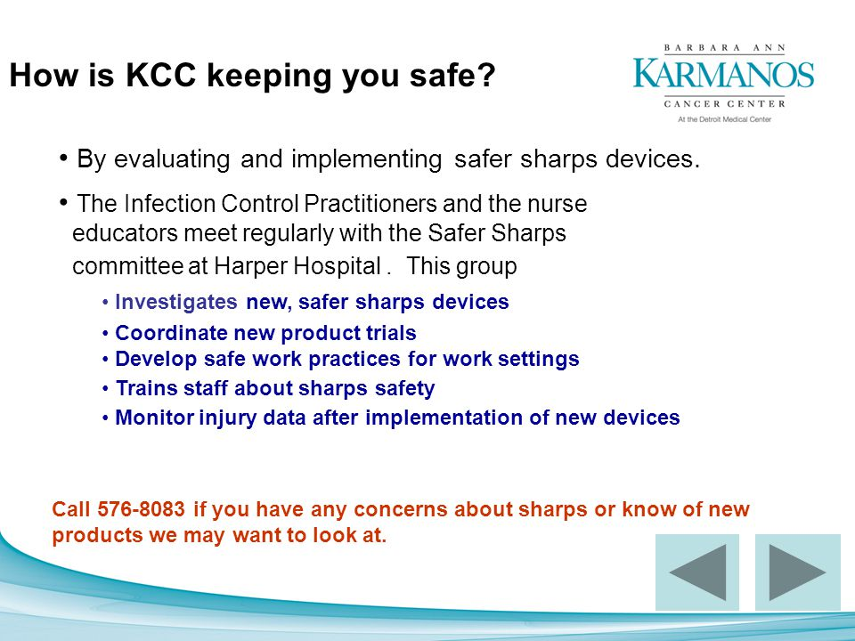 How is KCC keeping you safe