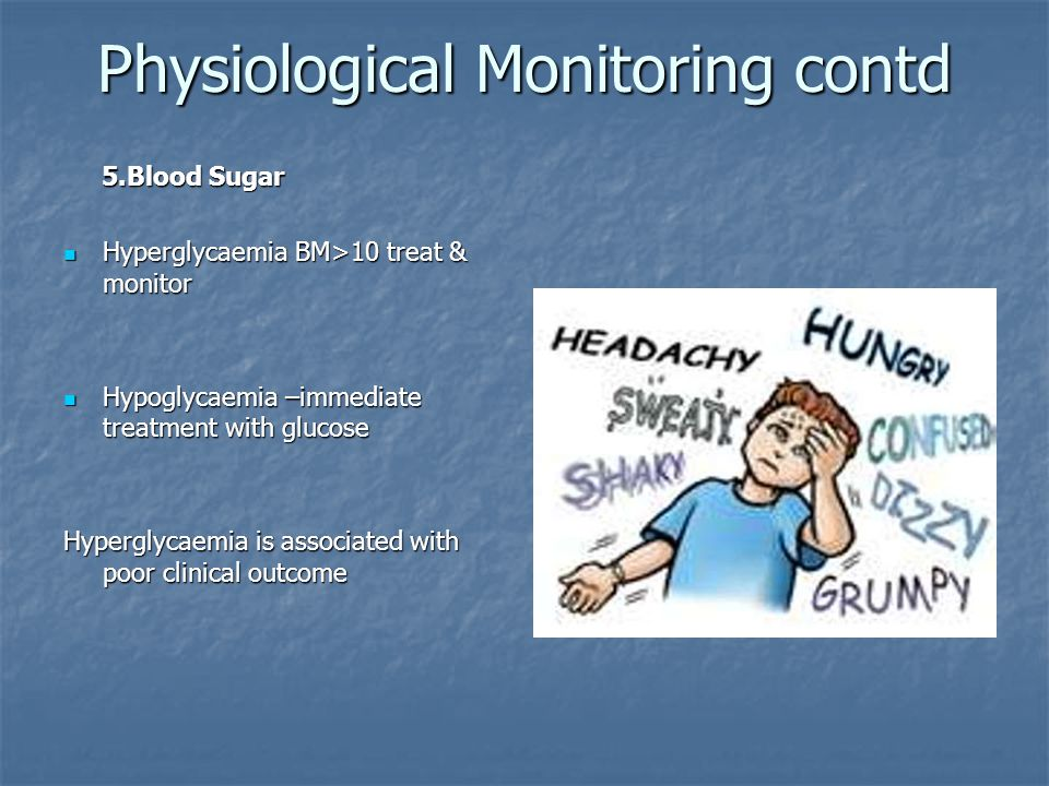 Physiological Monitoring contd