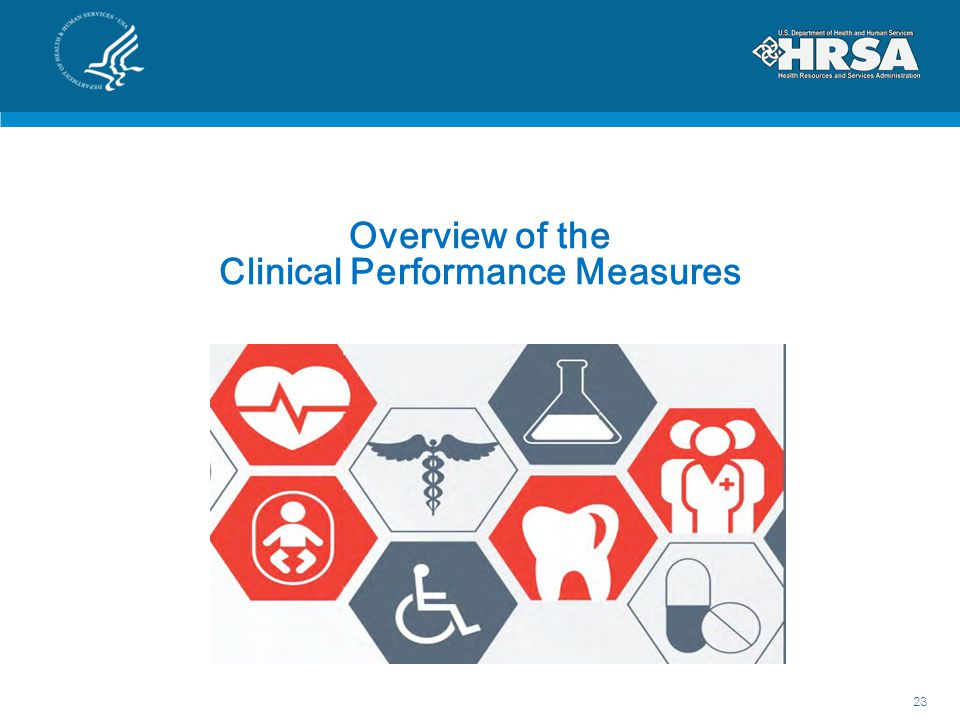 Overview of the Clinical Performance Measures
