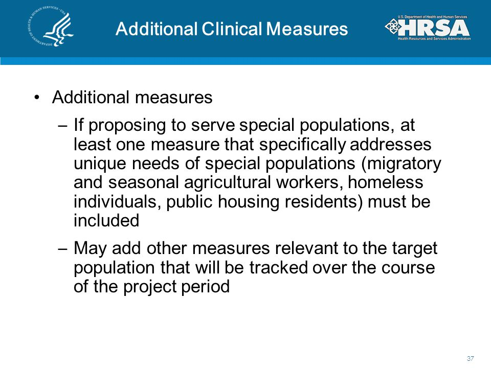 Additional Clinical Measures