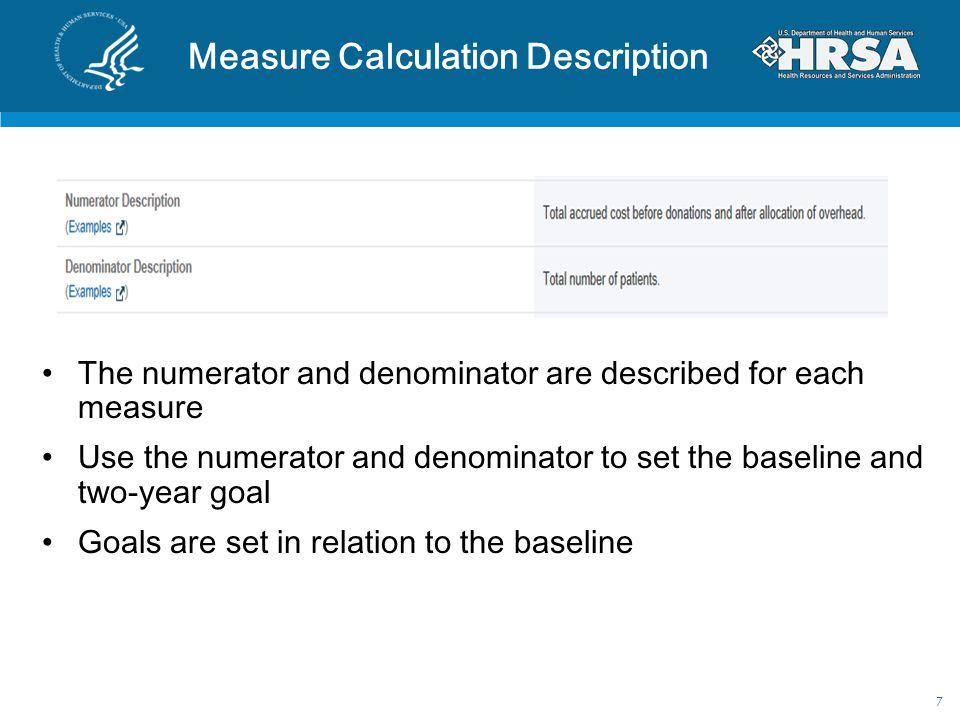 Measure Calculation Description