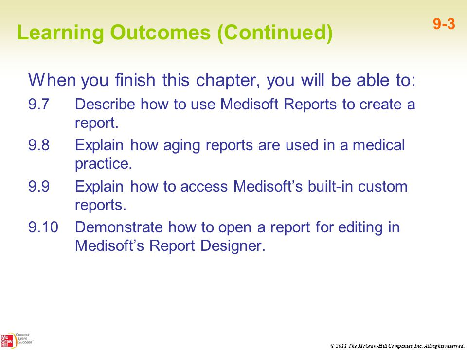9 Creating Reports. - Ppt Video Online Download