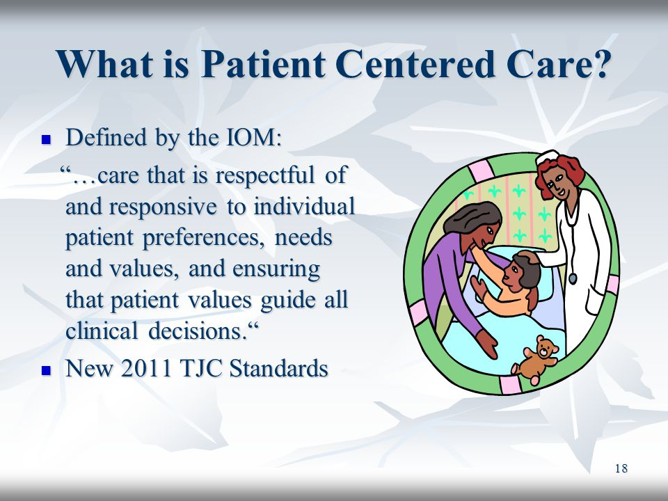 What is Patient Centered Care