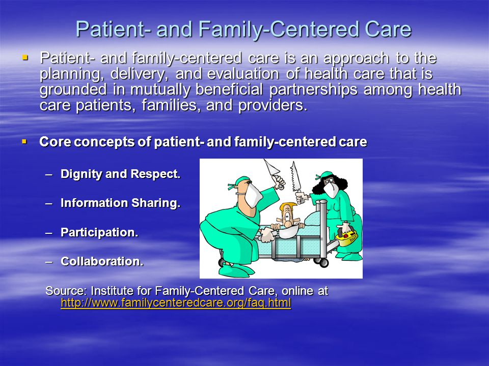 respecting patient dignity Careful planning, sensitive interactions or communication, respecting patient autonomy, preferences and choices and providing comfort can help maintain dignity in these situations (baillie et al, 2009.