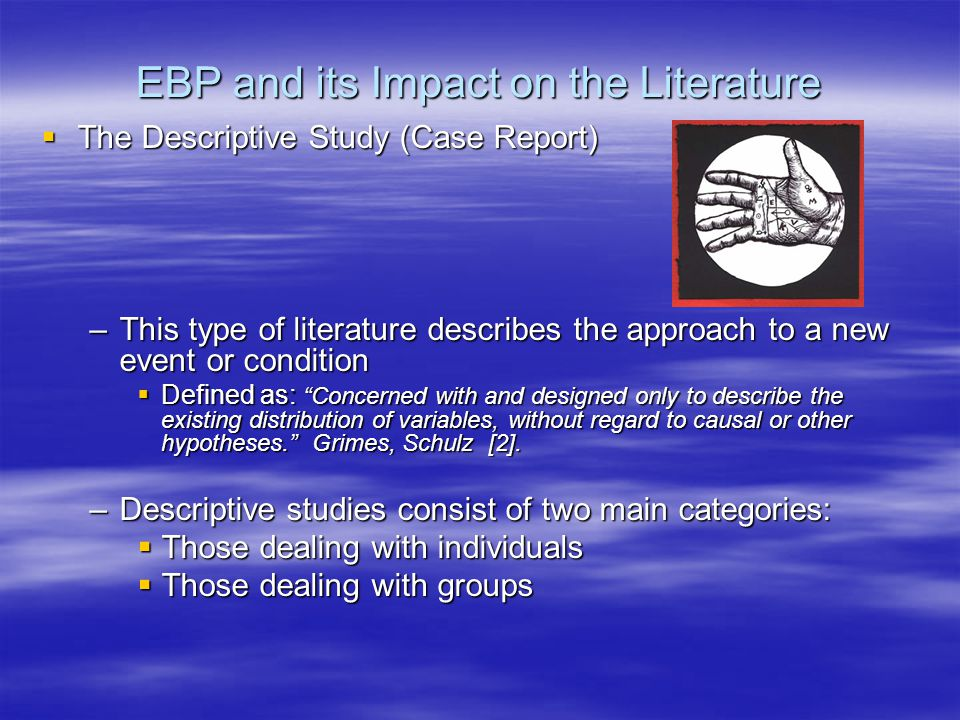 EBP and its Impact on the Literature