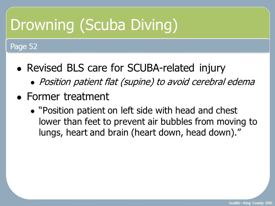 Drowning (Scuba Diving)