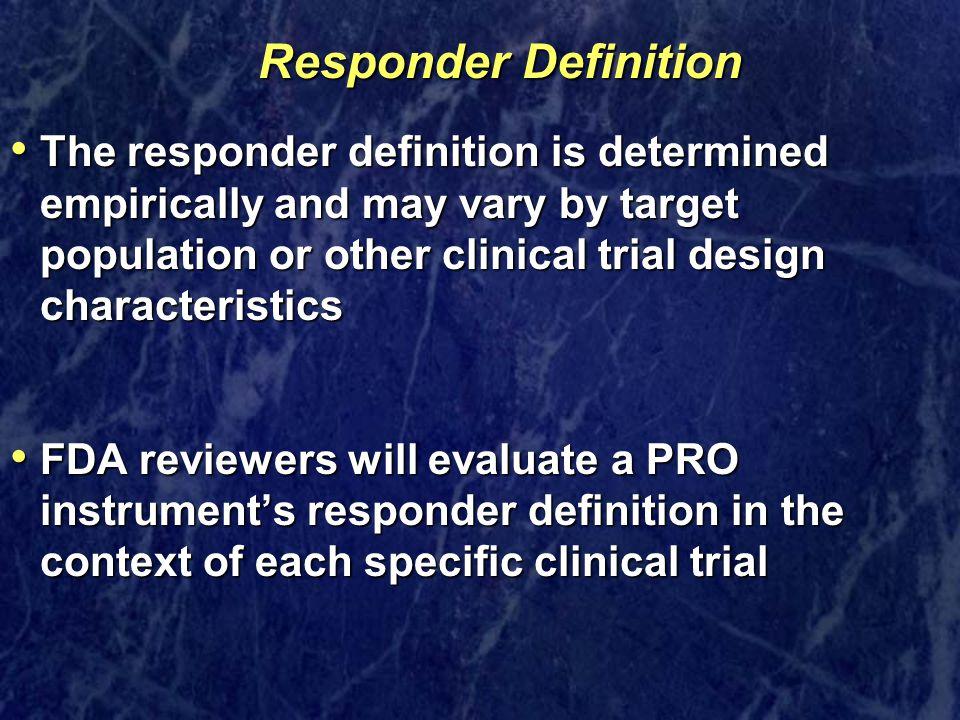 Responder Definition