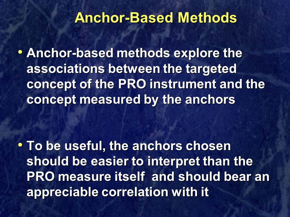 Anchor-Based Methods