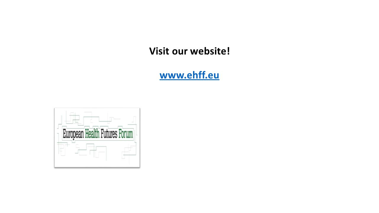 Visit our website! www.ehff.eu