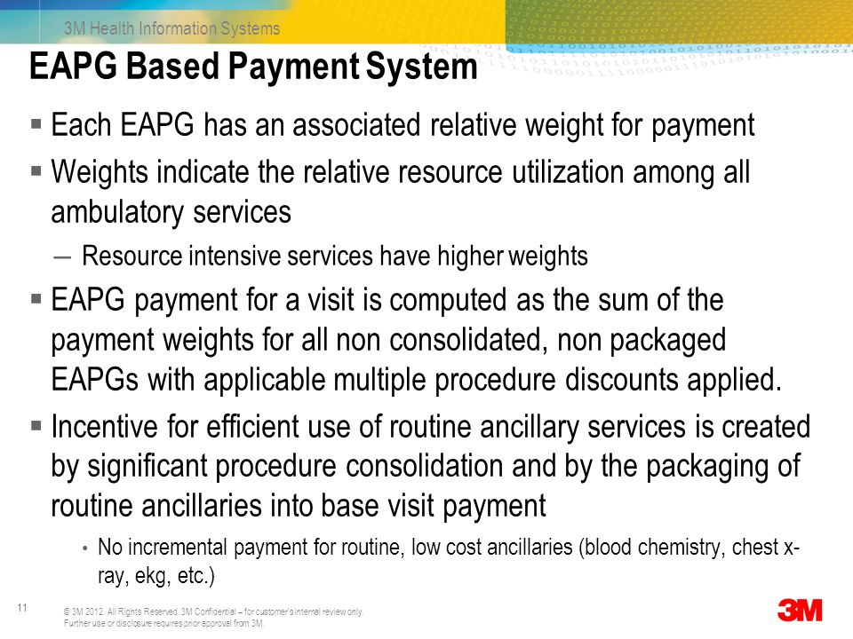 EAPG Based Payment System