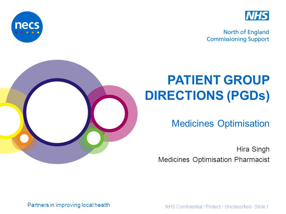 PATIENT GROUP DIRECTIONS (PGDs)
